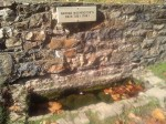 "Now I've seen everything... George Washington's bath tub where he ""took the waters"" in present-day Berkeley Springs, WV, oldest warm spring resort in the US... And supposedly they re-enact the bath every year. History people can be crazy!"