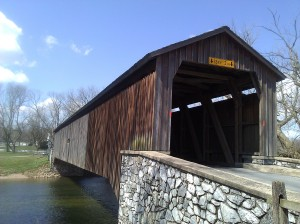 Hunsecker's Mill Bridge, Lancaster County, PA