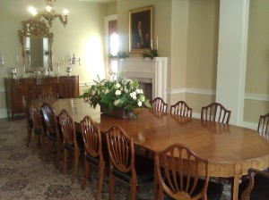 Dining Room, Historic Governor's Mansion