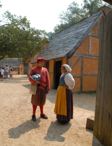 Jamestown fort, courtesy Jamestown-Yorktown Foundation