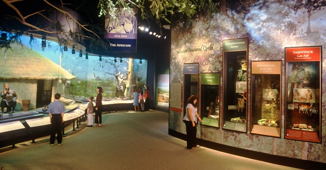 Permanent Exhibition, courtesy Jamestown-Yorktown Foundation