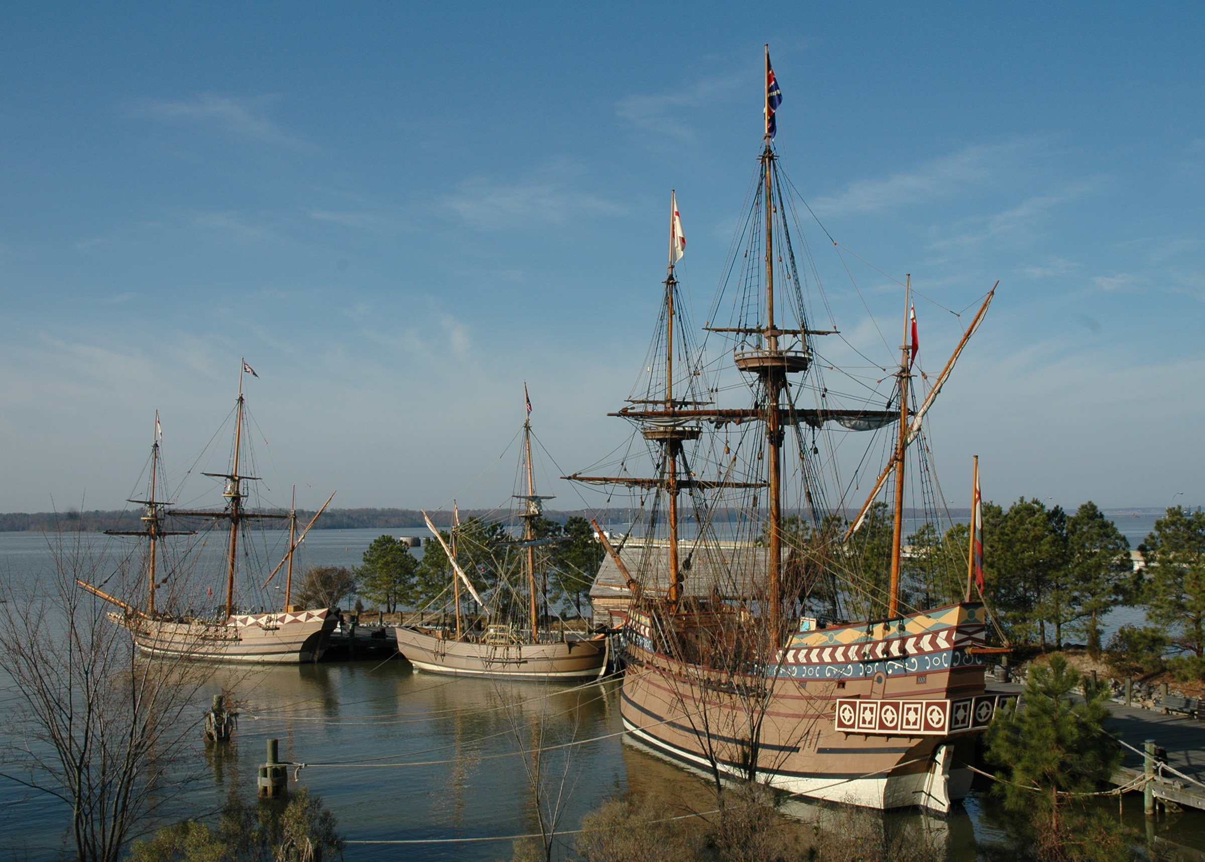 Jamestown S Foothold In The New World Historyplaces