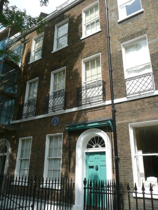Charles Dickens house, London