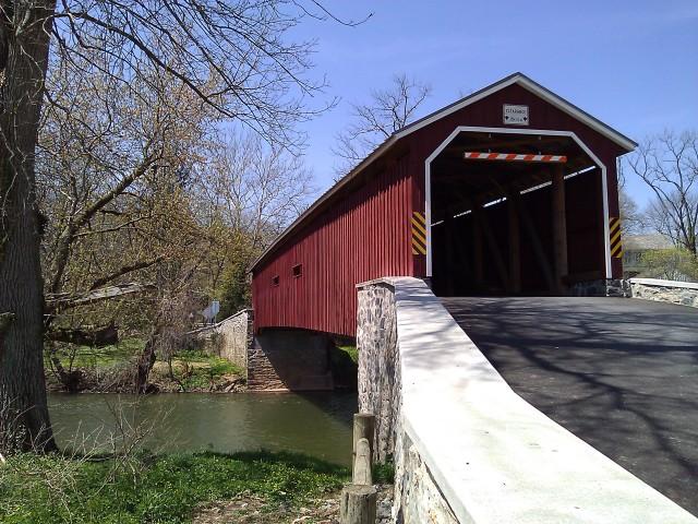 Pinetown Bridge over the Conestoga River, Lancaster County, PA
