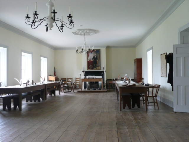 Colton Hall, interior