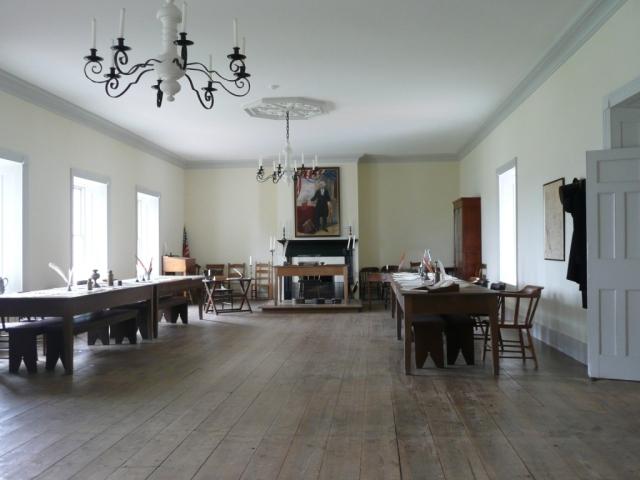 Colton Hall, interior