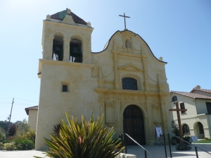 Royal Presidio Chapel - oldest building in Monterey