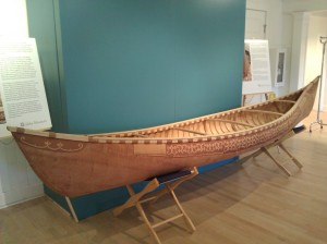 canoe at the Abbe