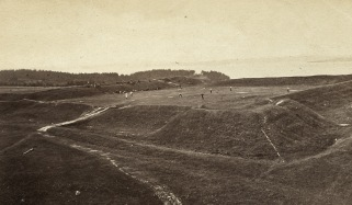Fort George late 19th c. courtesy of Castine Historical Society