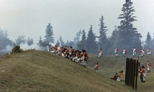 Reenactment in 1979 courtesy of the Castine Historical Society