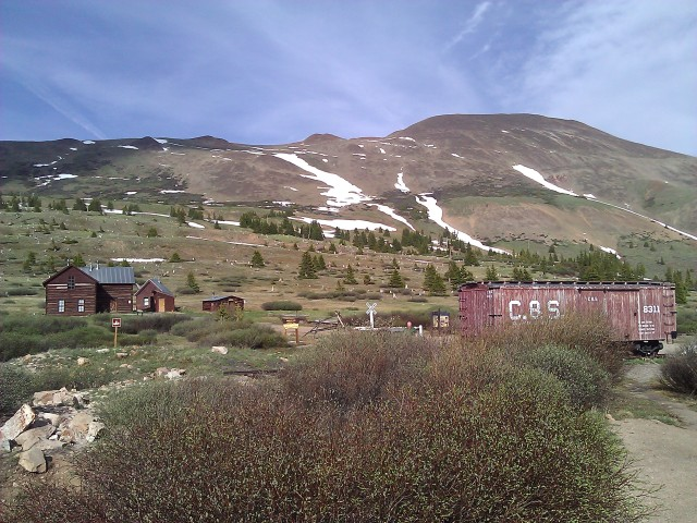 Boreas Pass ghost town