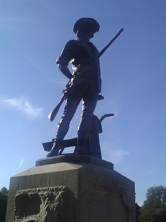 Concord minuteman statue