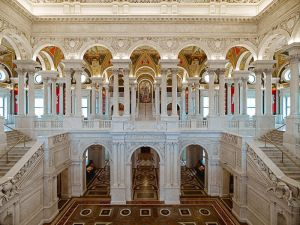 Great Hall, Library of Congress, Jefferson Building