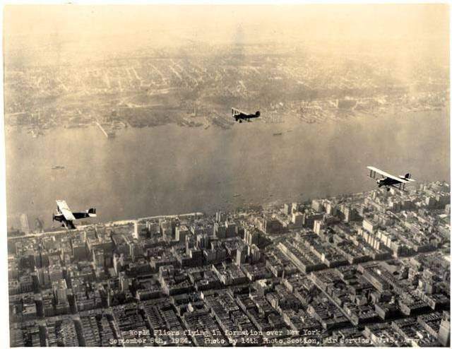 cruisers over NYC