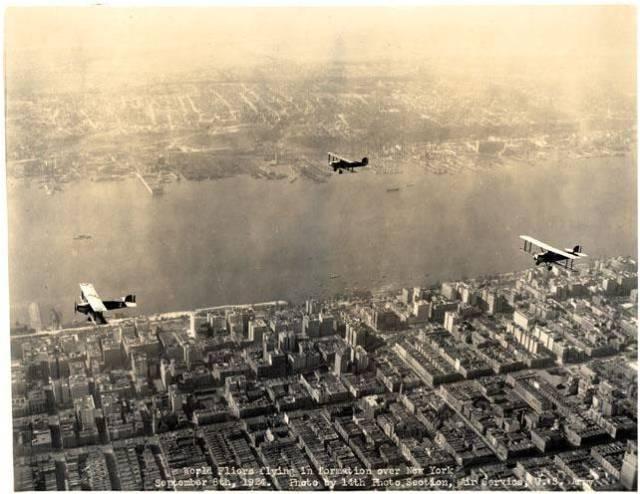 cruisers over NYC