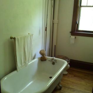 Charles's bath tub