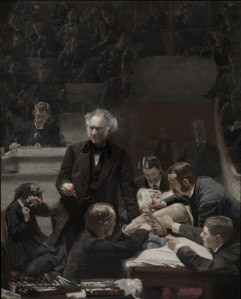 """The Gross Clinic by Thomas Eakins. Courtesy of the Philadelphia Museum of Art."""