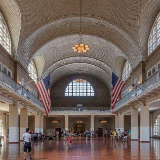 Great Hall of Ellis Island restored
