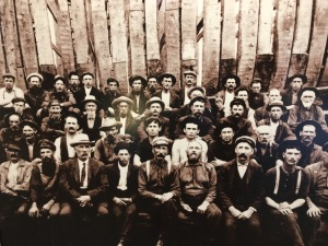 Shipyard employees