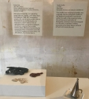 Items here found in a rat's nest helped researchers put pieces of the puzzle together about life at Montpelier.