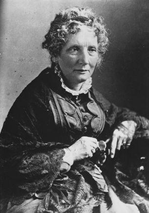 Harriet Beecher Stowe circa 1870