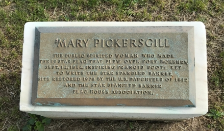 Marker added at Mary Pickersgill's grave
