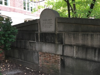 Samuel Smith grave, Westminster Cemetery, Baltimore