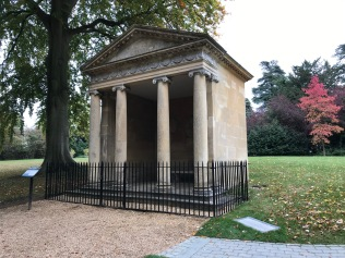 Temple of Diana, where Churchill proposed
