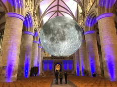 Special Moon exhibit in the Nave celebrating the Apollo 11 Moon landing